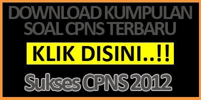 download kumpulan soal CPNS Kota Bandung 2012 sekarang
