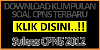 DOWNLOAD KUMPULAN CPNS SETNEG 2012 SEKARANG!