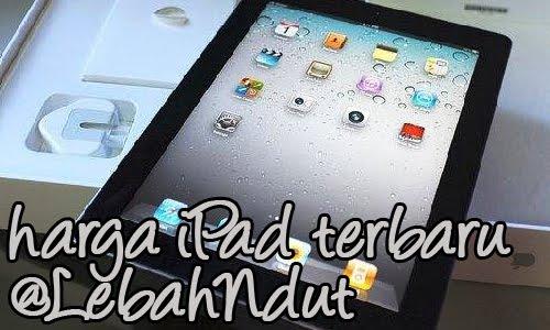 Update Daftar Harga Apple iPad Baru Bekas Desember 2012 Terlengkap