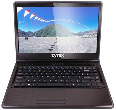 Harga Notebook ZYREX dan MSI Terbaru Januari 2013