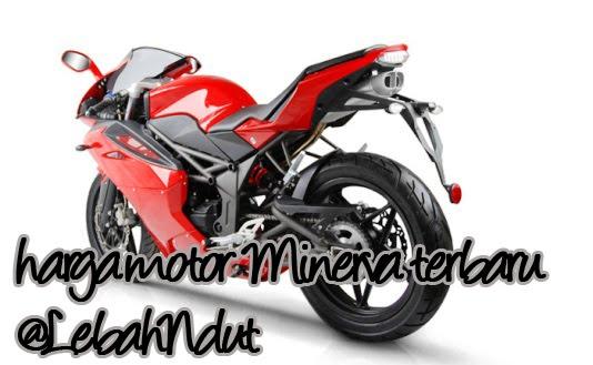Daftar Harga Motor Minerva Baru Bekas Desember 2012 Terlengkap