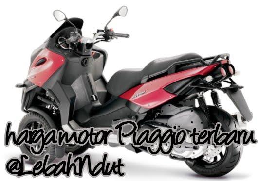 Daftar Harga Motor Piaggio Terbaru Desember 2012 Terlengkap Terkini