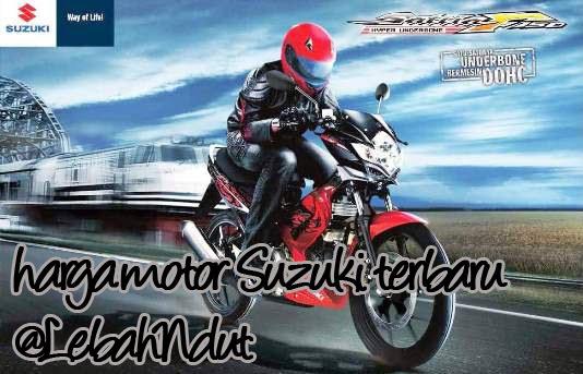 Daftar Harga Motor Suzuki Baru Bekas Desember 2012 Terlengkap