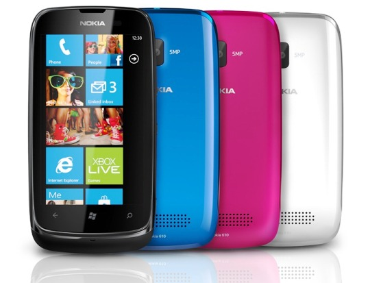 Harga dan Spesifikasi Nokia Lumia 610 Terbaru di Indonesia
