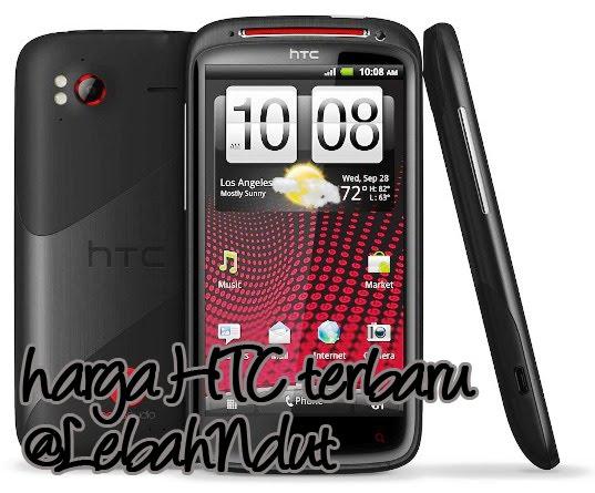 Daftar Harga Smartphone HTC Baru dan Bekas November 2012 Terlengkap