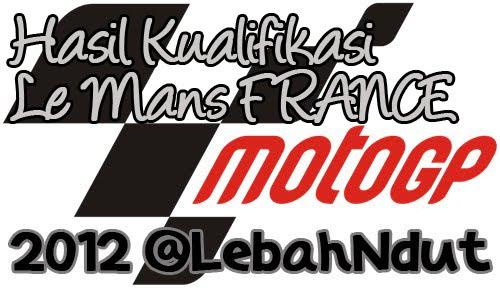 Hasil Kualifikasi motoGP 2012 Le Mans moto3 moto2