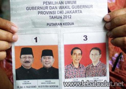 Hasil Quick Count Pilkada DKI Jakarta 2012 Putaran 2 - Litbang Kompas