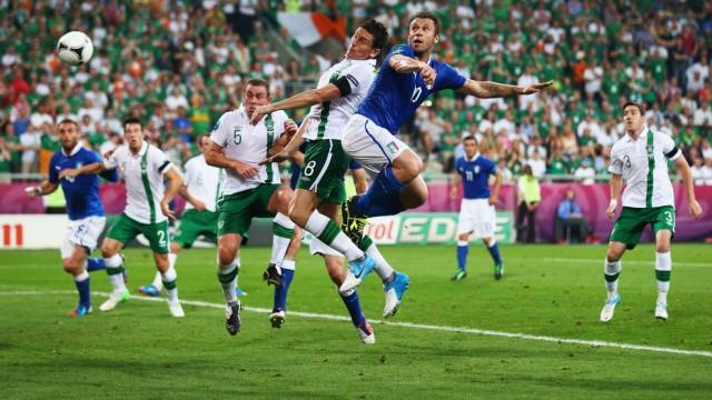 Hasil Skor Italia vs Irlandia Piala Eropa 19 Juni 2012