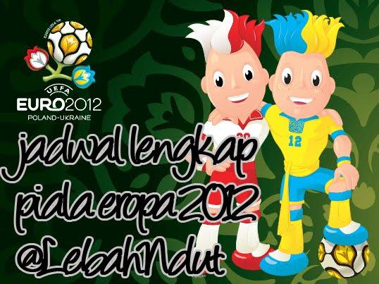 Jadwal Euro Cup 2012 RCTI Piala Eropa 2012 Lengkap
