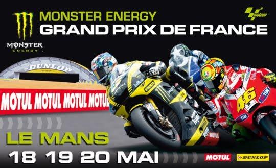 Jadwal kualifikasi dan Balap motoGP Le Mans Perancis 19 – 20 Mei 2012