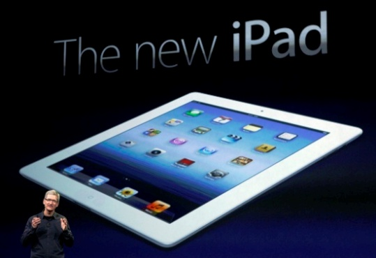 Merasakan Kehebatan Apple New iPad