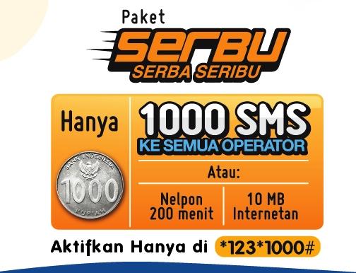 Paket XL Serbu Serba Seribu