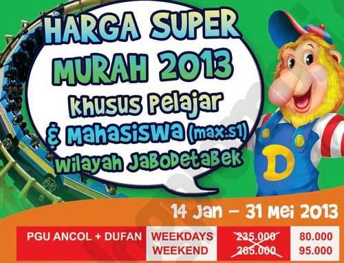 Promo Dunia Fantasi Harga Super Murah 2013