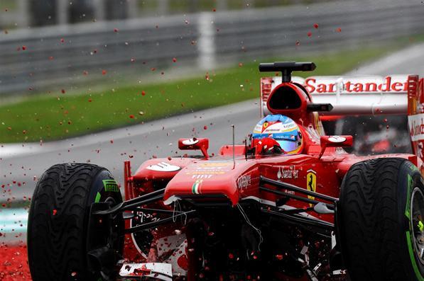 Fernando Alonso Juara F1 Cina Musim 2013