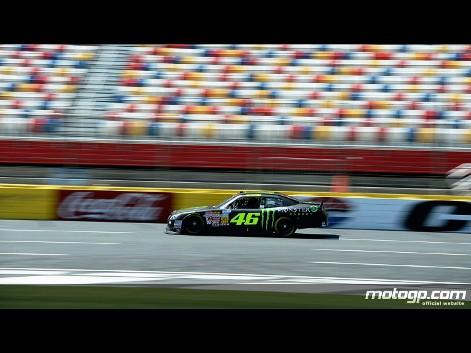 Foto Valentino Rossi VR46 Charlotte Motor Speedway Nascar Test