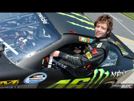 Foto VR46 Charlotte Motor Speedway Nascar Test