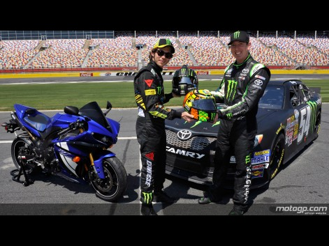 Foto VR46 The Doctor Charlotte Motor Speedway Nascar Test