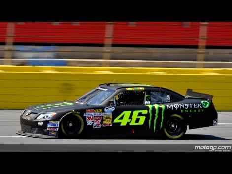 Foto VR46 Valentino Rossi Charlotte Motor Speedway Nascar Test
