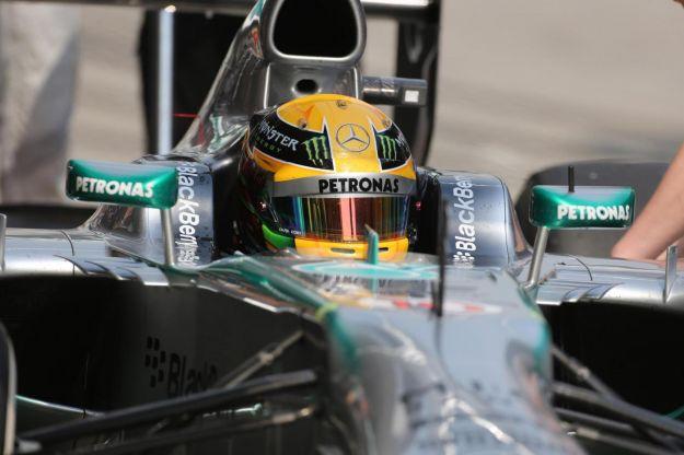 Hasil Kualifikasi F1 Cina 2013 Lewis Hamilton Pole Position