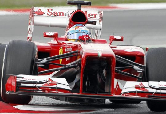 Fernando Alonso Race F1 Catalunya Spanyol 2013