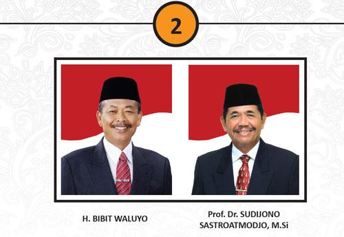 Hasil Quick Count Bibit-Sudijono Pemilukada Pilgub Jateng 2013