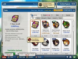 Link Download Cheat Lost Saga Terbaru