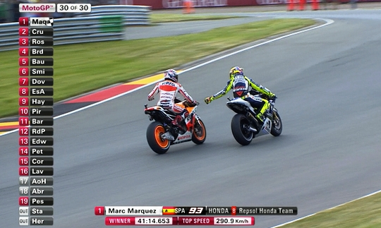 Marquez Juara Race MotoGP Sachsenring Jerman 2013