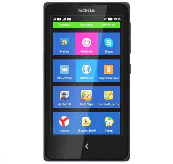 Harga Nokia X Dual Sim dan Spesifikasi