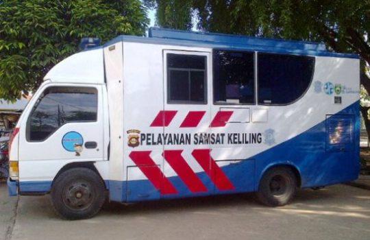 Jadwal Samsat Keliling Terbaru Bulan Ini Pajak STNK Online