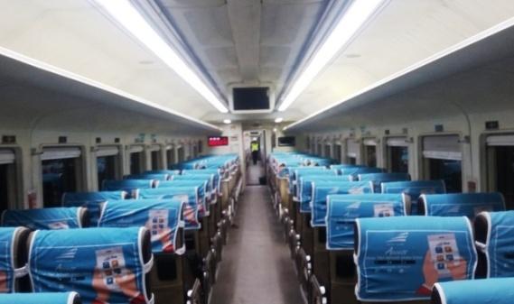 Naik Kereta Api Malam