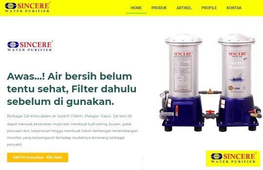 Percayakan Kebutuhan Air Bersih dan Sehat untuk Keluarga Anda kepada Sincere Water Purifier