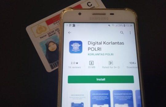 Cara Perpanjang SIM Online melalui Layanan SINAR di Aplikasi Digital Korlantas POLRI