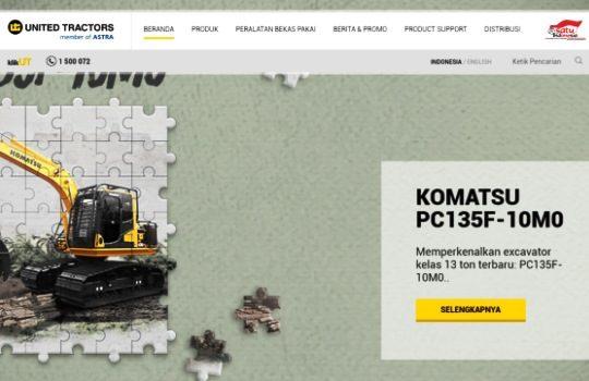 United Tractors Crawler Crane Demag