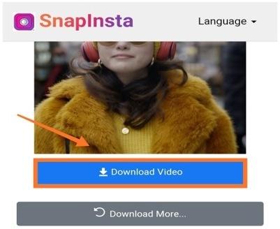 Download Video Instagram untuk Digunakan Kembali